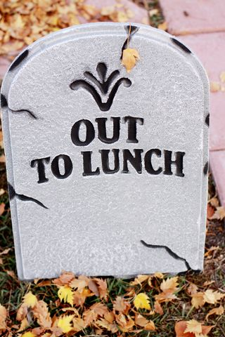Out to lunch